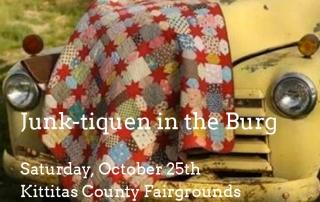 Junk-tiquen in the Burg Event