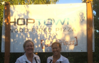 HopTown Pizza - party in the orchard