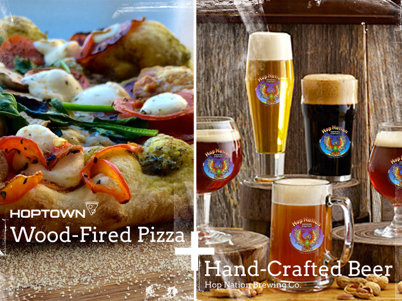 Pizza + Beer. A Winning Combination