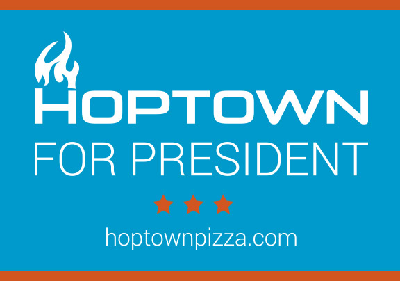 HopTown for President graphic