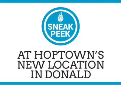 Sneak Peek At HopTown's New Location