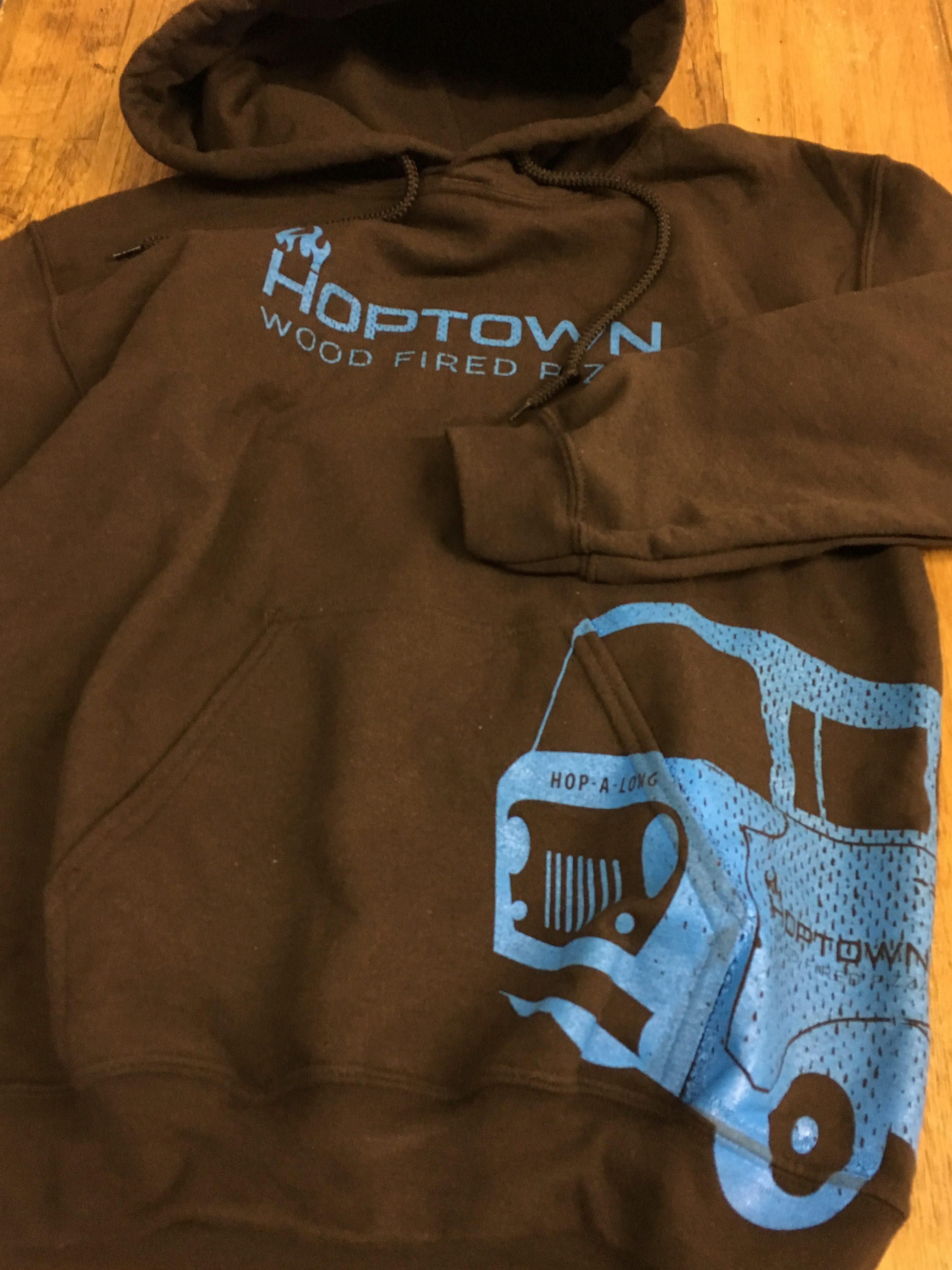 Brown Sweatshirt graphic