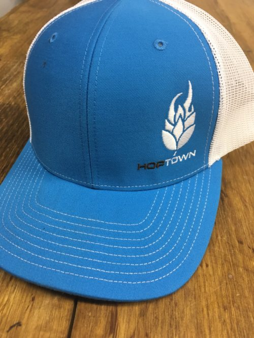 HopTown Blue Trucker Hat