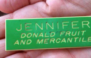 peach peeler badge photo